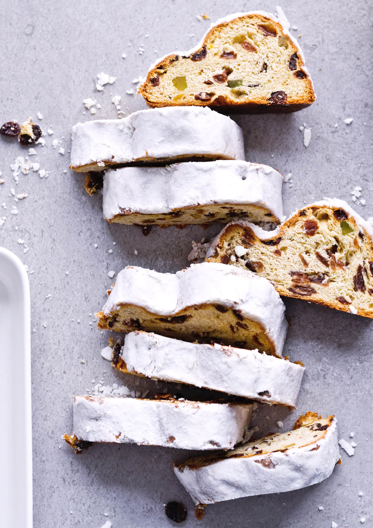 Recipe For Orange Yogurt Stollen French Toast Christmas Stollen Prepared As  Classic French Toast,