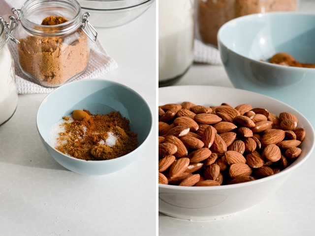 Cinnamon roasted almonds - Mitzy At Home